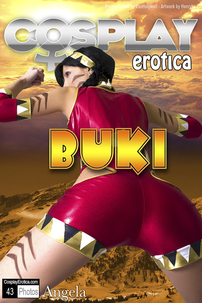Angel Blanche as Buki from Sudeki  by CosplayErotica