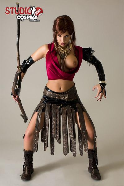 nude morrigan Dragon age cosplay