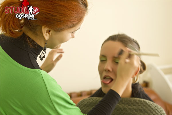 Make-Up Artis In Action