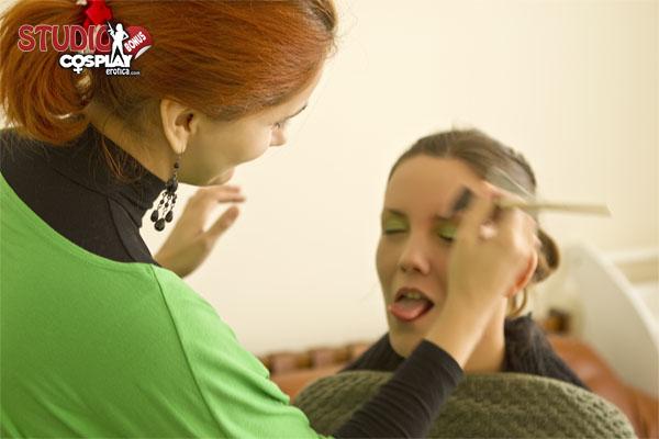 Make-Up Artis In Action