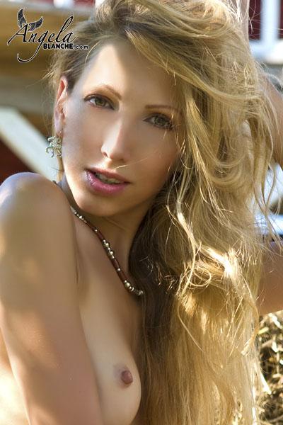 Angela Blanche - Nude Portrait
