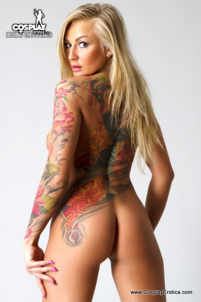 Tattooed Model