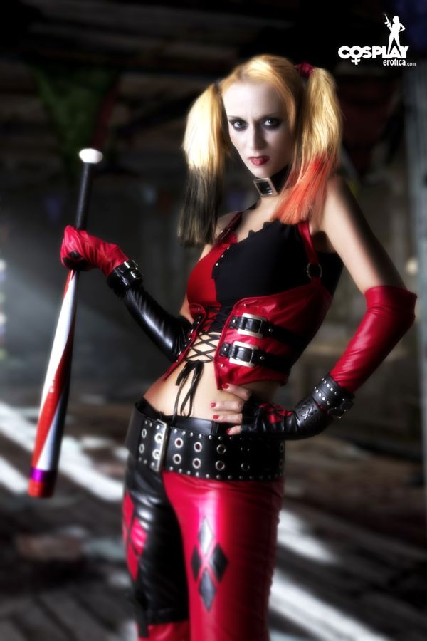 Beware Of Harley Quinn by CosplayErotica
