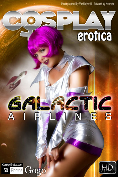 Gogo - Galactic_Airlines by Cosplay Erotica
