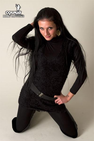 Zorah in street wear