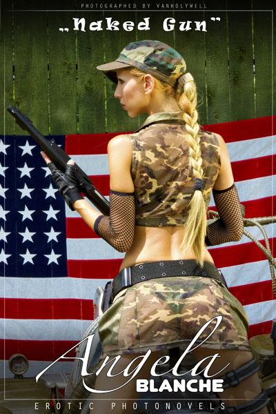 Angela Blanche - Naked Gun