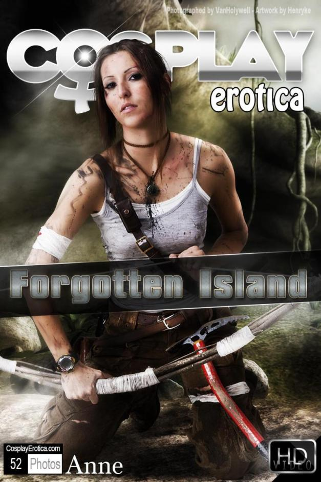 Lara Croft with Anne by Cosplay Erotica