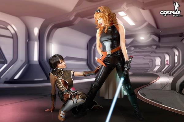 Sexy Jedi Girls