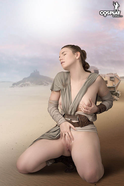 rey the force awakens cassie 35